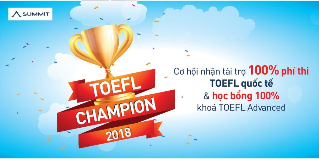 Summit TOEFL Champion 2018