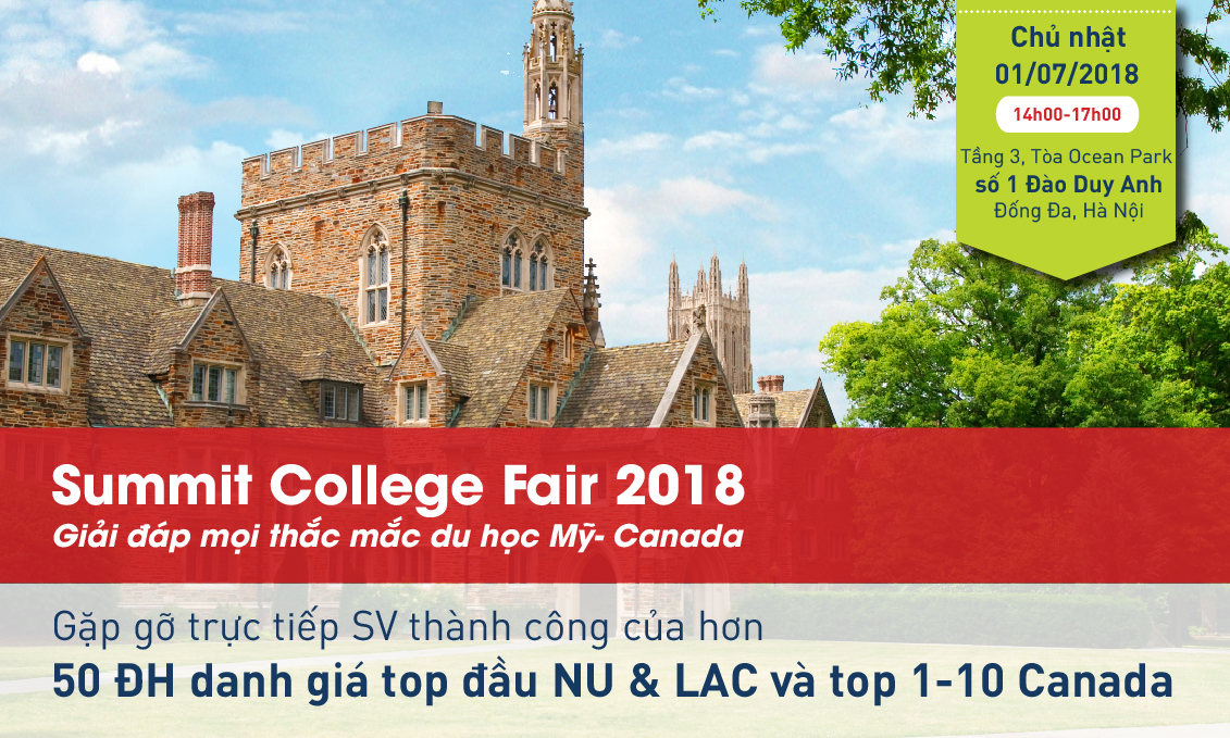 Summit college fair 2018