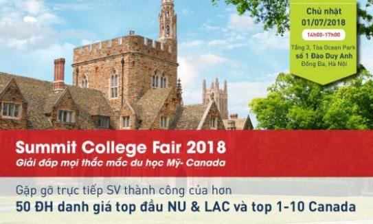 Summit college fair 2018