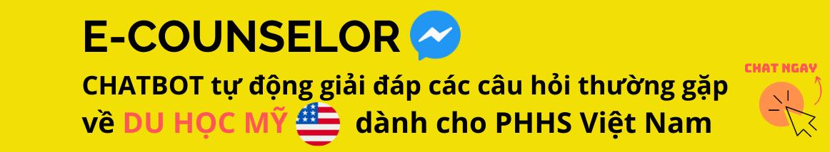 chatbot tự động tư vấn du học Mỹ
